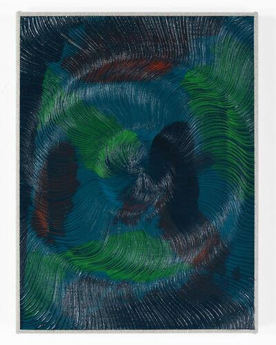 Giacomo Santiago Rogado, 'Coalescence (Camouflage, Phthalocyanine Emerald)', 2019