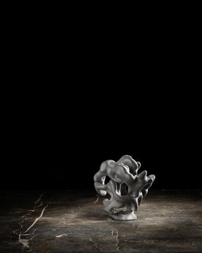 Zhao Meng 趙夢, 'Clay Lingbi Stone in Palm 掌心靈壁 #4', 2015