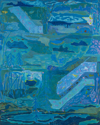 Gordon Dalton, 'The Blue Garden', 2017