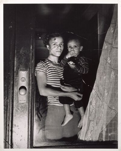 Weegee, 'Mother and Child in Harlem', ca. 1950