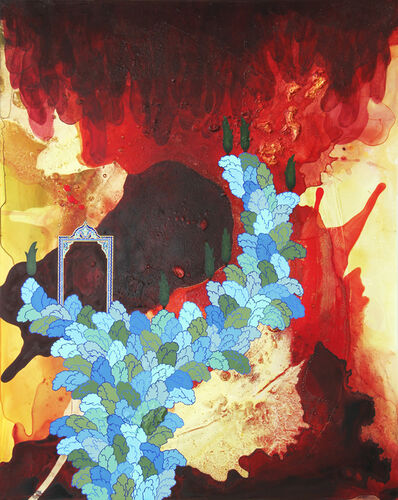 Hedieh Javanshir Ilchi, 'Caress my darkness, liminal lover 1', 2016