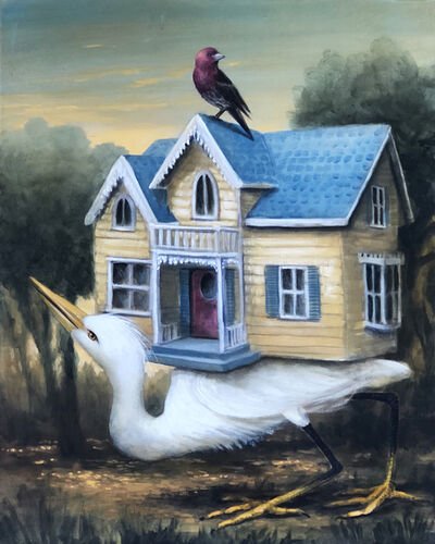 Kevin Sloan, 'Sunrise at Birdhouse Grove', 2020