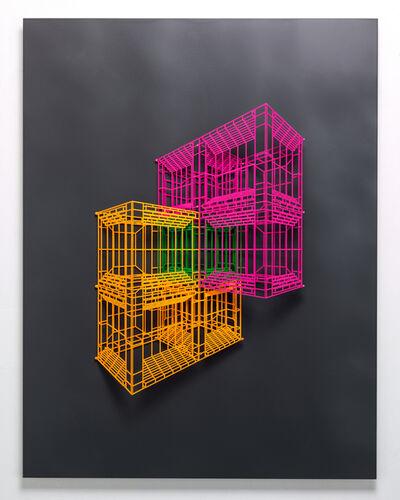 Byungjoo Kim, 'Ambiguous wall-Symmetry 04', 2019