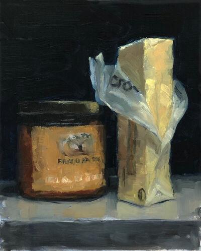 Tom Giesler, 'Study of partners: top shelf fridge #2', 2019