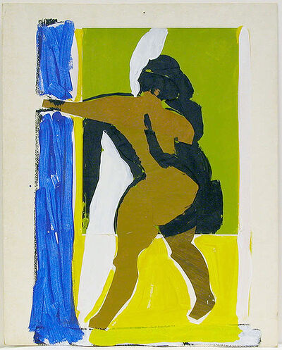 Viola Frey, 'Untitled (Backside of Standing Nude with Extended Arm)', 1968-1970