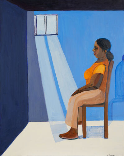 Tricia L. Townes, 'The Blue Wall', 2017