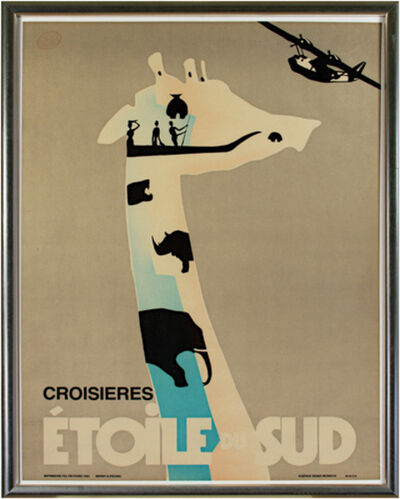 Berny & Peignot, 'Croisieres Etoile Du Sud', 1986