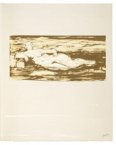 Henry Moore, 'Femme Allongée', 1973