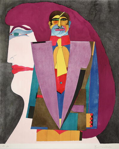 Richard Lindner, 'Portrait #1 from After Noon', 1974