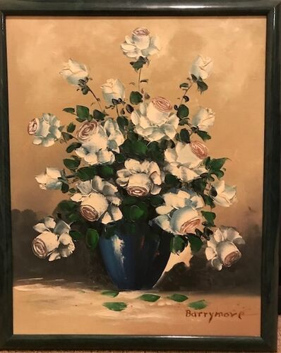 Lionel Barrymore, 'Still life in a Blue Vase', 20th Century