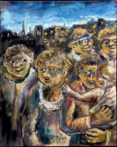Yosl Bergner, 'Aboriginal', 2013