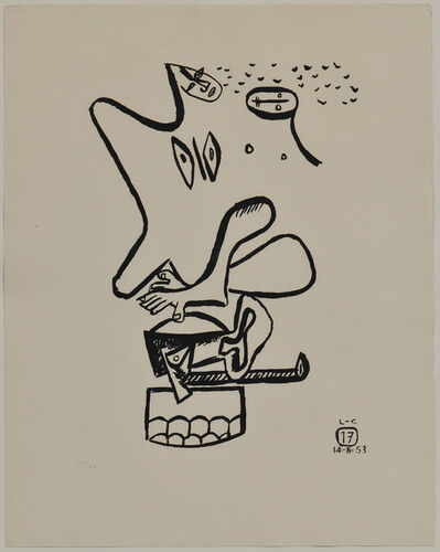 Le Corbusier, 'Plate 17, from the Series Unité', 1953