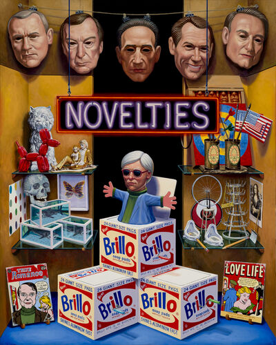 Mark Lang, 'Novelties', 2017