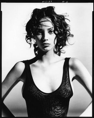 Arthur Elgort, 'Christy Turlington wearing Azzedine Alaia, NYC', 1987