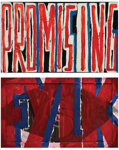 Stano Filko, 'Promissing - FYLK', 1983