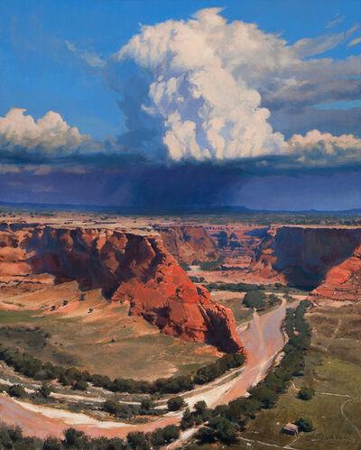 Bob Stuth-Wade, 'Storm, Canyon de Chelly', 2016