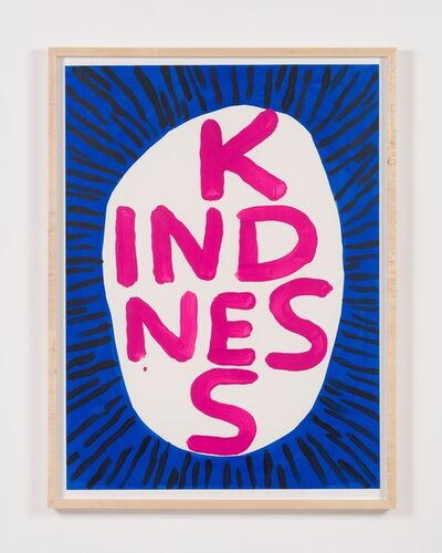 David Shrigley, 'Untitled (Kindness)', 2018