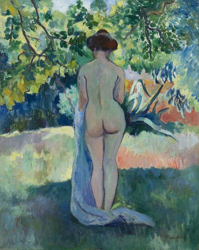 Henri Manguin, 'Après le bain, Jeanne à Saint-Tropez', 1907