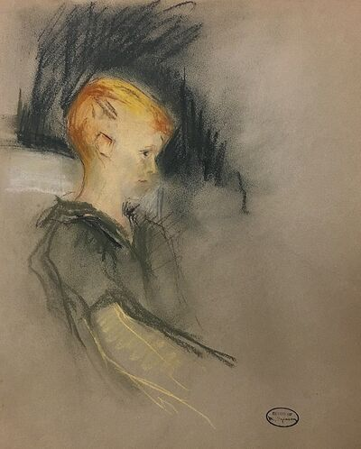 Margery Austen Ryerson, 'Study of a Boy', ca. 1930