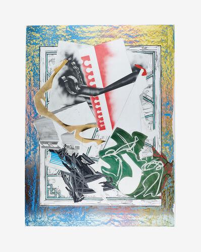 Frank Stella, 'Going Aboard', 1989