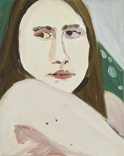 Chantal Joffe, 'Longhaired Boy', 2016