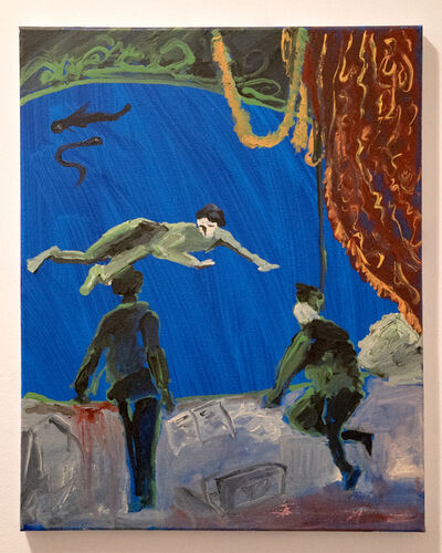 Tzu-Huan Lin, 'Into the Blue', 2018