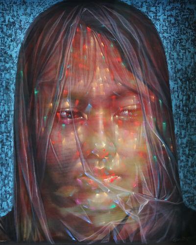 Uttaporn Nimmalaikaew, 'A woman in the blue atmosphere', 2020