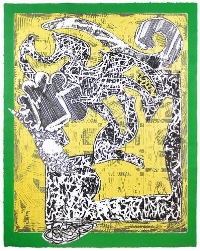 Frank Stella, 'Green Journal ', 1985