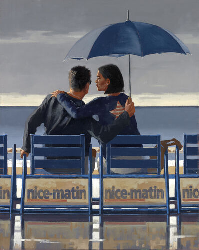 Jack Vettriano, 'Blue Blue (Large Format - Signed Limited Edition Print)', 2013