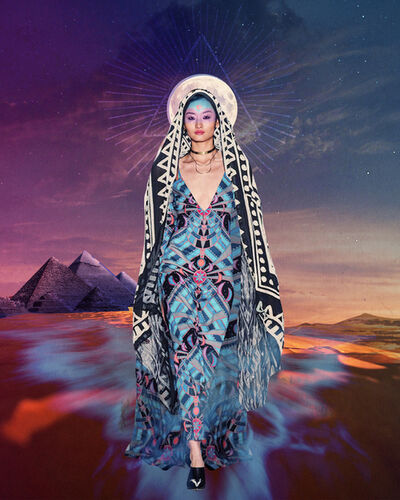 Deming King Harriman, 'Designer Homage:  Mara Hoffman Fall 2014 Collection', 2021