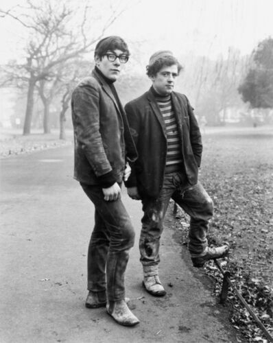 Evelyn Hofer, 'Two Painters, Dublin', 1967