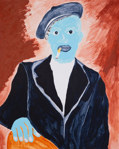Chase Hall, 'Blue Panther Party', 2019