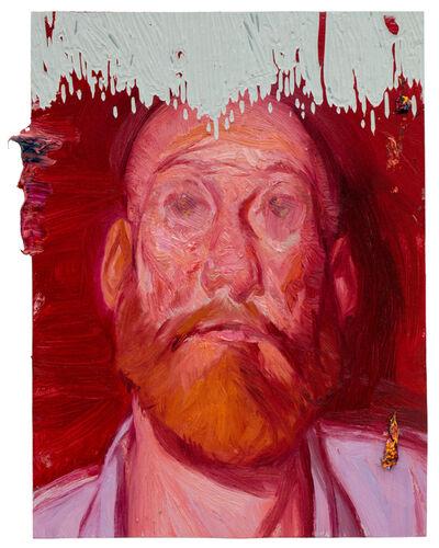 Ruprecht von Kaufmann, 'In Rot', 2017