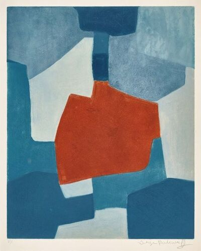 Serge Poliakoff, 'Composition in blue and red XXXI ', 1967