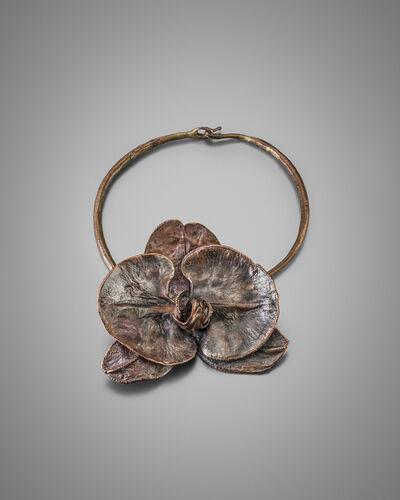 Claude Lalanne, 'Orchid Neckalace', 2017