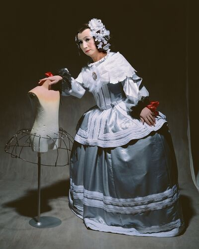"""Yasumasa Morimura, '""""Living the realm of the painting (THE LEANING  MAID OF HONOR)""""', 2013"""
