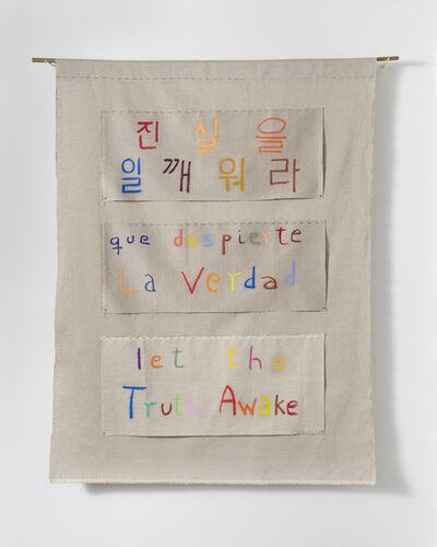 Cecilia Vicuña, 'Let The Truth Awake', 2021