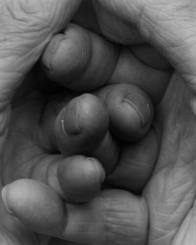 John Coplans, 'Interlocking Fingers No 17', 2000