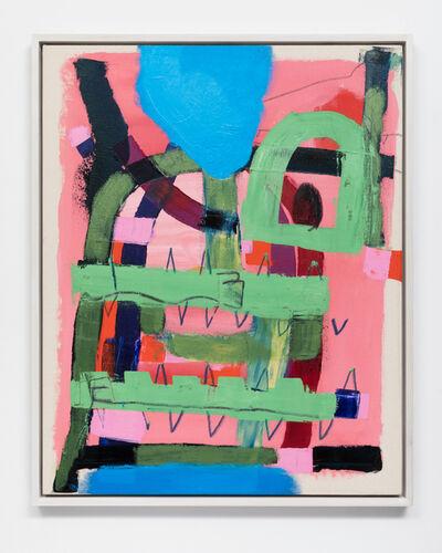 Mason Saltarrelli, 'Blackjaw Observes Pink Past', 2018
