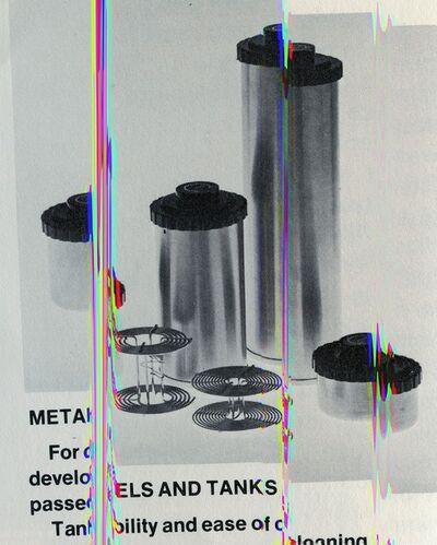Sara Cwynar, 'Metals and Tanks (Darkroom Manuals)', 2013