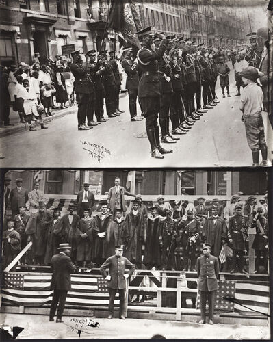 James VanDerZee, 'Marcus Garvey and Garvey Militia, Harlem', 1924