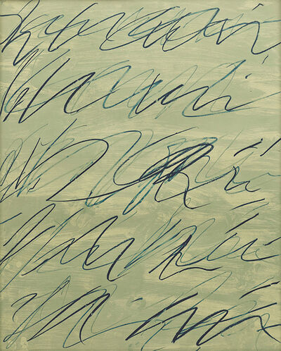 Cy Twombly, 'Roman Notes V', 1970