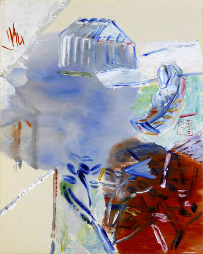 Leng Hong 冷宏, 'Blue Mountains and Green Water in February', 2011