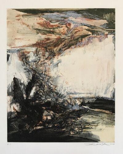 Zao Wou-Ki 趙無極, 'Rocky Coast', 1968
