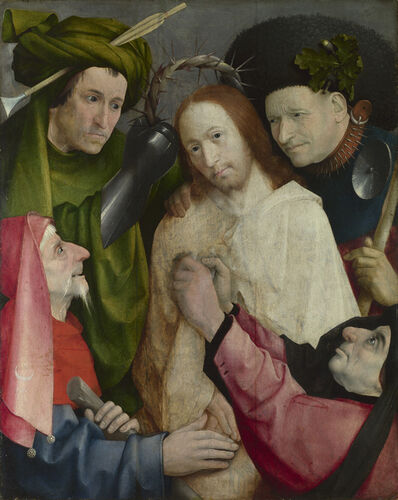 Hieronymus Bosch, 'Christ Mocked (The Crowning with Thorns)', about 1510