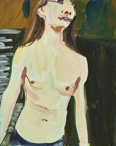 Chantal Joffe, 'MAN IN A RIVER', 2016