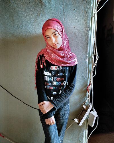Rania Matar, 'Samira, 11', 2012