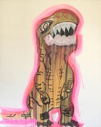 Liz Markus, 'Pink Aura T Rex', 2020