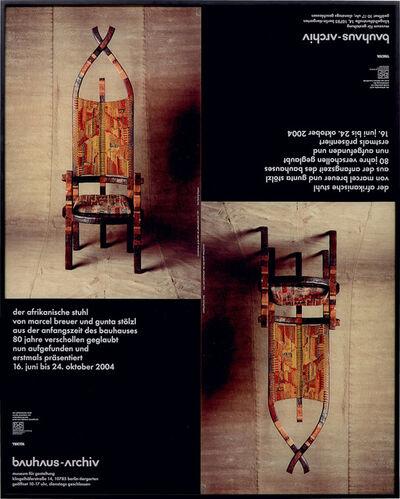 Michaela Meise, 'Der Afrikanische Stuhl (The African Chair)', 2008