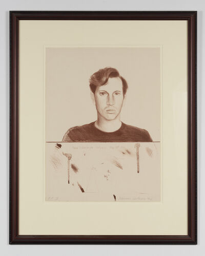 David Hockney, 'Friends Series, Peter Schlesinger', 1976